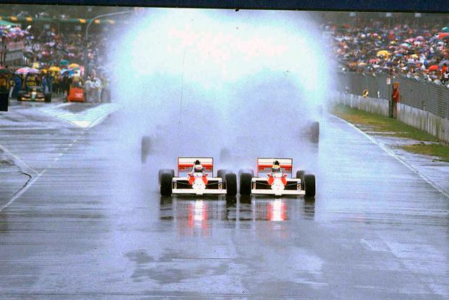 Первый старт Гран При Австралии 1989 года. Фото McLaren