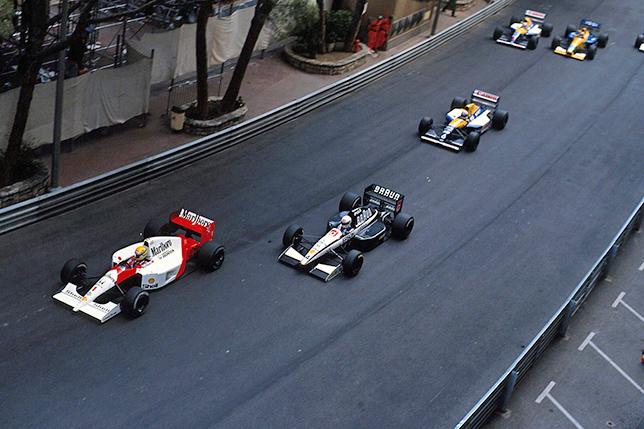 Старт Гран При Монако 1991 года