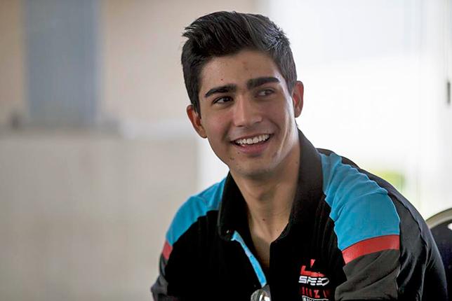 GP3: Jenzer подписала контракт с Хуаном-Мануэлем Корреа