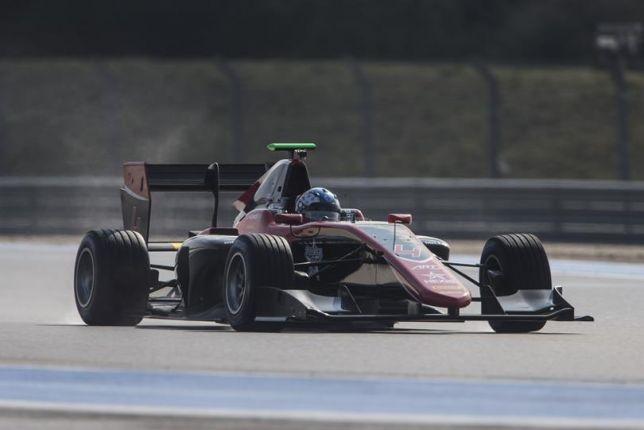 GP3: Хьюз лидирует на тестах в Поль-Рикар, Мазепин второй