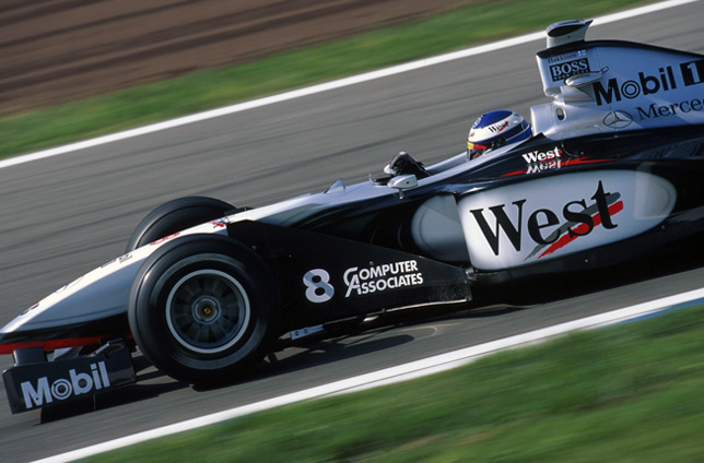 Мика Хаккинен на Гран При Испании 1998 года