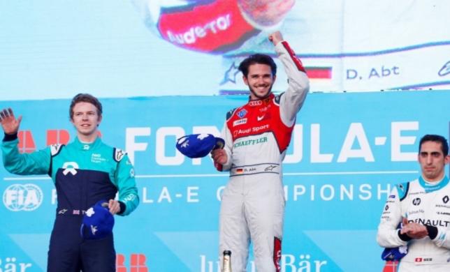 Формула E: Победителем мексиканского этапа стал Абт