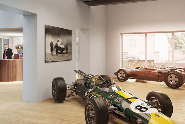 Новый музей Джима Кларка