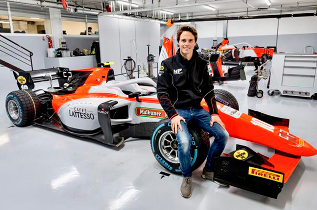 Ф2: Ральф Бошунг подписал контракт с MP Motorsport