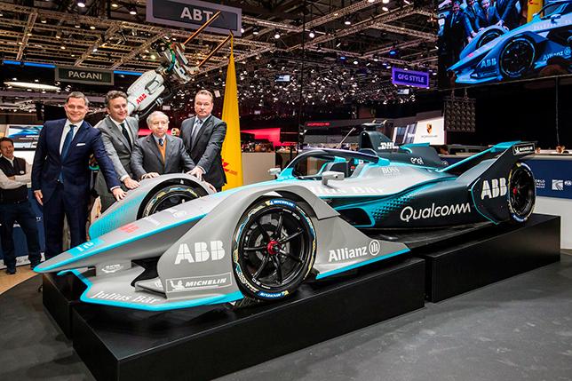 Формула E представила машину нового поколения