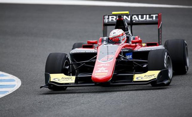 GP3: Юбер лидирует в первый день тестов в Хересе