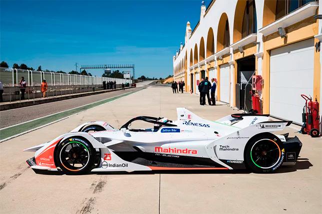 Машина Mahindra на тестах в Монтебланко