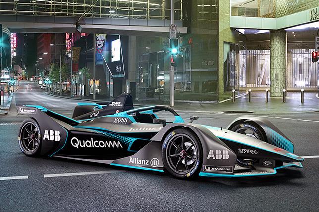 Машина Формулы E нового поколения