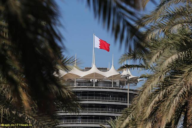 Автодром в Бахрейне