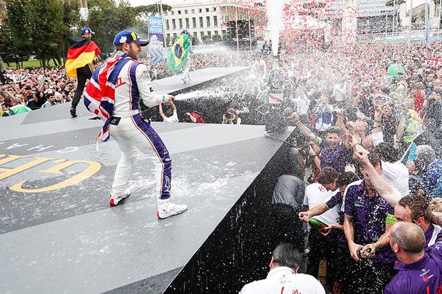 Формула E: Сэм Бёрд выиграл гонку в Риме