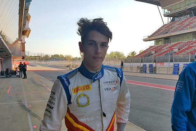 GP3: Пульчини лучший на тестах в Барселоне, Мазепин 3-й