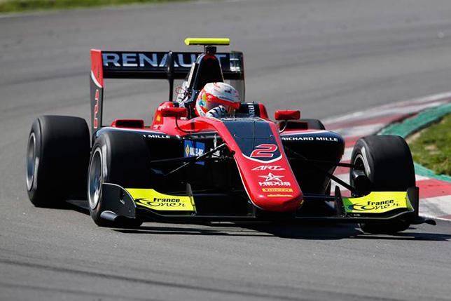 GP3: Антуан Юбер завершил тесты на первом месте