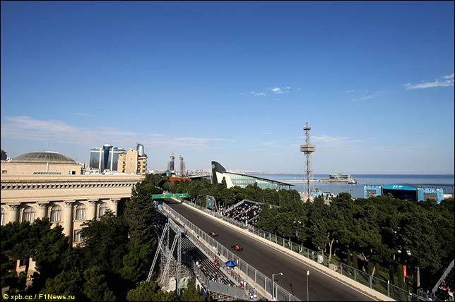 阿塞拜疆大奖赛:天气周末