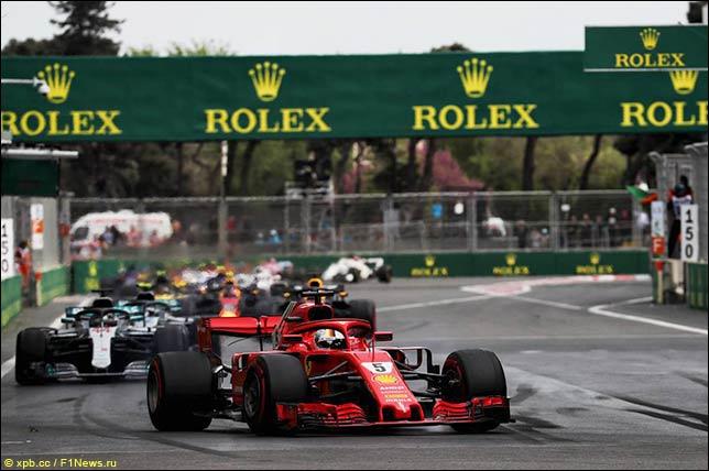Старт Гран При Азербайджана