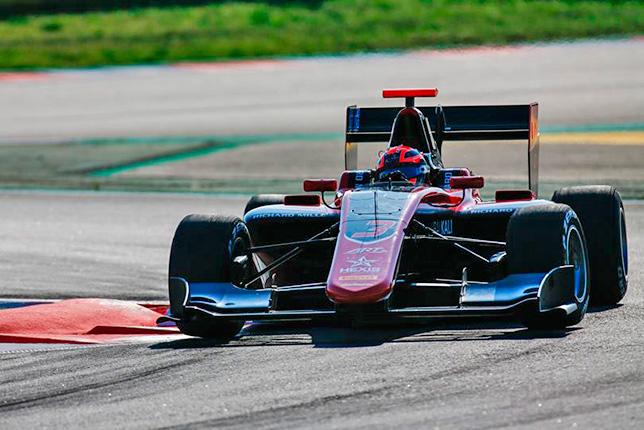 GP3: Никита Мазепин выиграл первую гонку сезона