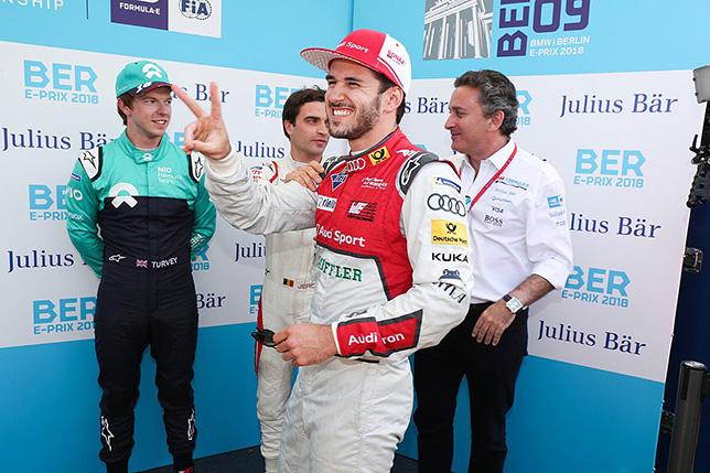 Формула E: С поула в Берлине стартует Даниэль Абт
