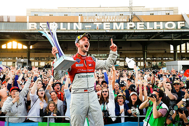 Даниэль Абт, победитель гонки Формулы E в Берлине