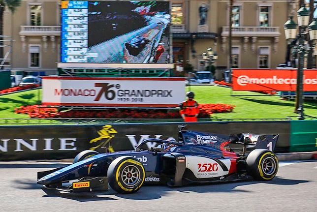 Ф2: Артём Маркелов выиграл гонку в Монако
