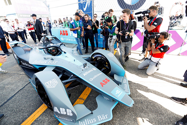 Машина Формулы E второго поколения