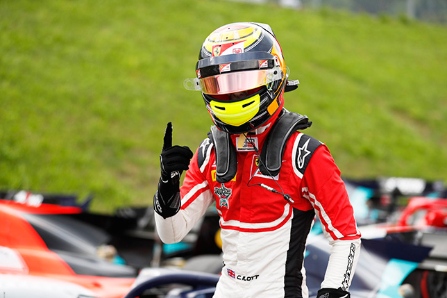 GP3: Каллум Айлотт выиграл первую гонку на Red Bull Ring