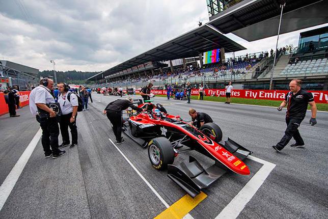 GP3: Хьюз выиграл воскресную гонку в Австрии