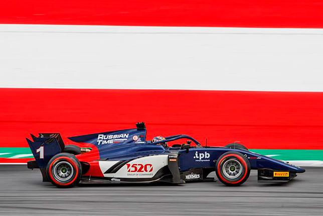 Ф2: Артём Маркелов выиграл спринт в Австрии