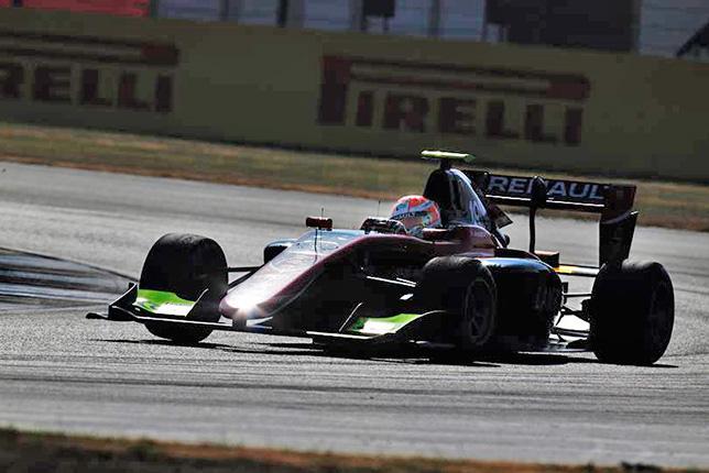 GP3: Юбер завоевал поул в Сильверстоуне, Мазепин второй
