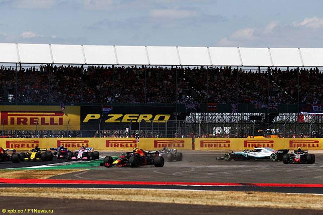 Последствия инцидента на первом круге Гран При Великобритании