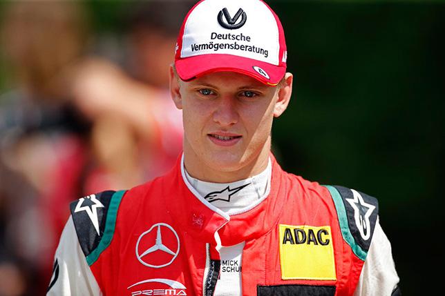 Мик Шумахер впервые победил в Формуле 3, Шварцман 2-й