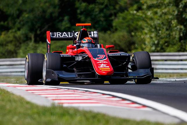 GP3: Никита Мазепин выиграл субботнюю гонку в Венгрии
