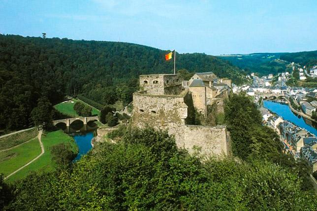 Замок в бельгийских Арденнах