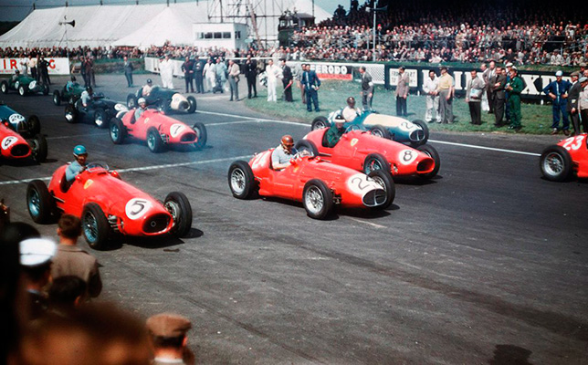 Старт Гран При Великобритании 1953 года