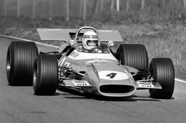 Джеки Стюарт на Гран При Нидерландов 1969 года