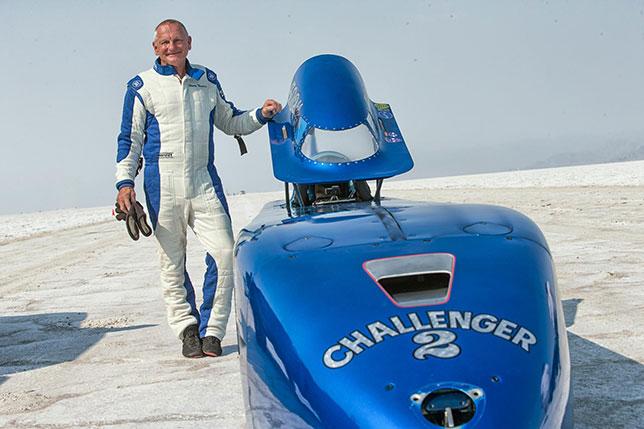 Дэнни Томпсон и его рекордный автомобиль Challenger 2