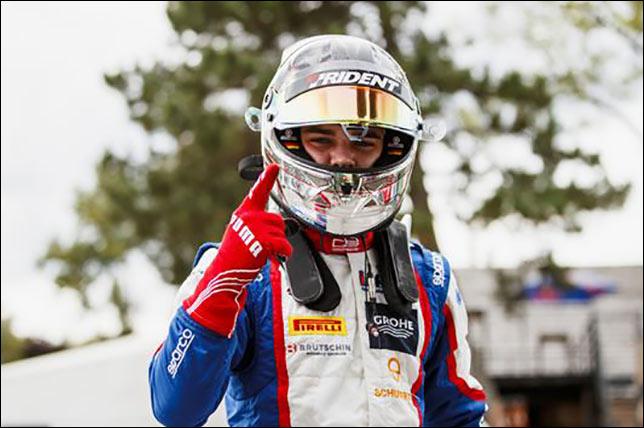 GP3: Бекман выиграл гонку после старта с поула