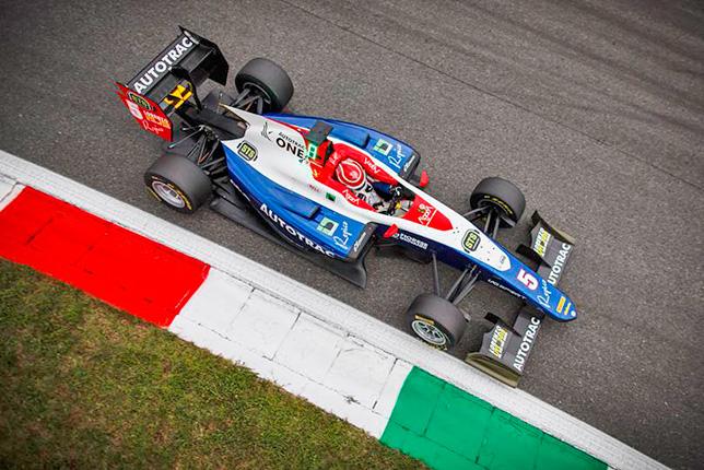 GP3: Воскресную гонку в Монце выиграл Педро Пике
