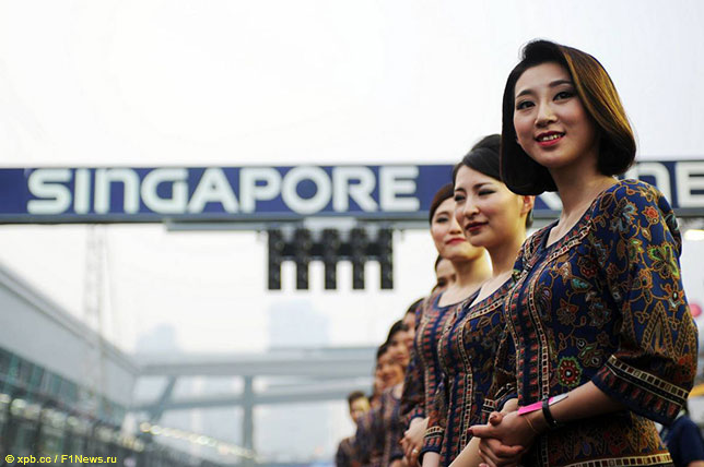 Сингапурские грид-гёрлз