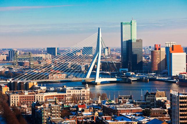 Панорама Роттердама (фото с сайта tourz.pro)
