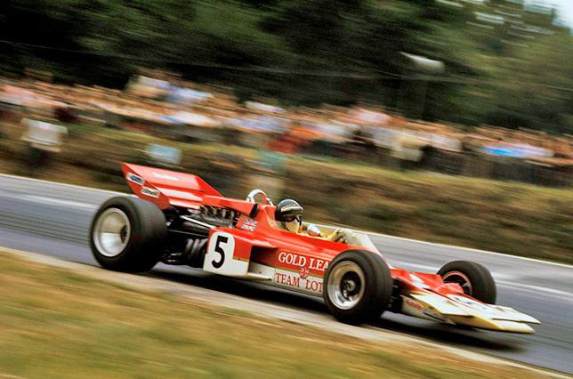 Йохен Риндт на Гран При Великобритании 1970 года