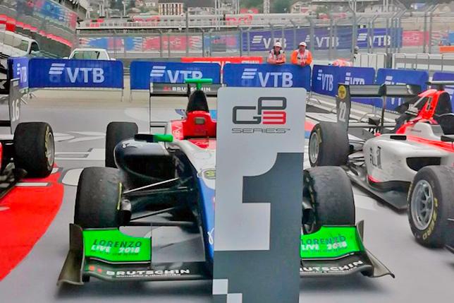 GP3: Бекманн выиграл воскресную гонку в Сочи