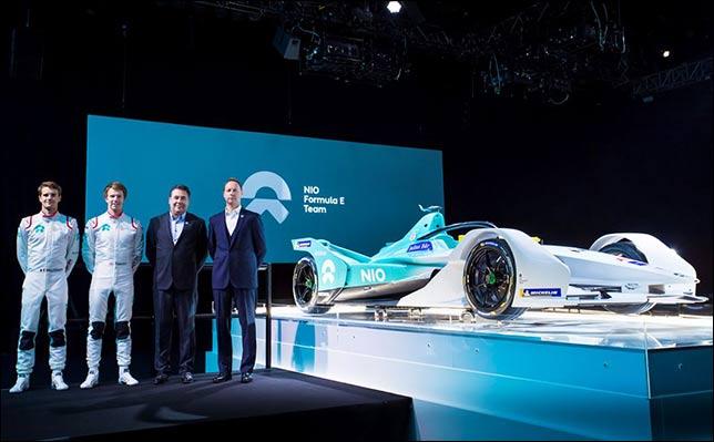 Формула Е: Дилманн и Тёрви поедут за NIO