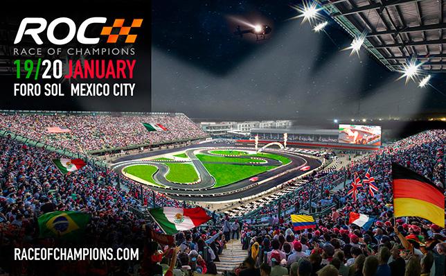 Гонка Чемпионов пройдёт на трассе Формулы 1 в Мексике