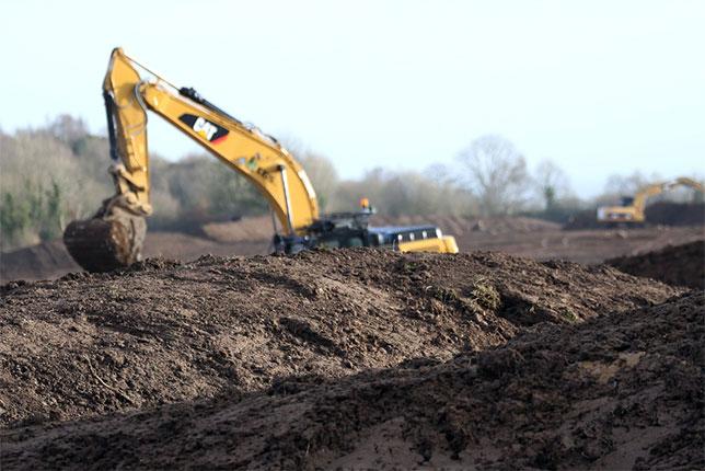 Работы на стройплощадке в местечке Лейк-Торрент приостановлены