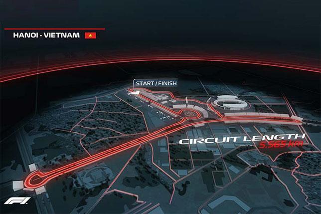 Трасса Гран При Вьетнама, фото официального сайта чемпионата