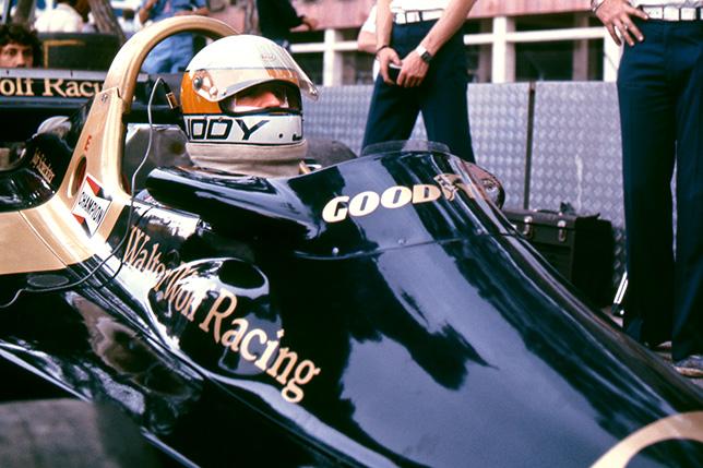 Джоди Шектер на Гран При Монако 1977 года. Фото Philip Kozloff