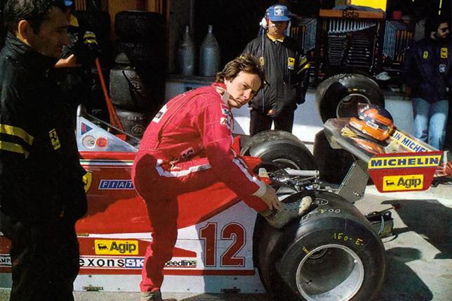 Жиль Вильнёв на Гран При Лонг-Бич (США-Запад) 1978 года. Фото Ferrari