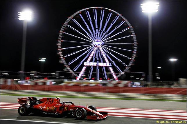 巴林大奖赛周五自由练习赛