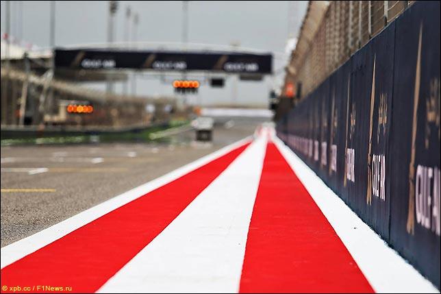 巴林大奖赛:启动现场