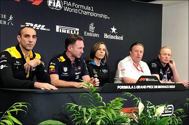 Гран При Монако: Пресс-конференция в четверг