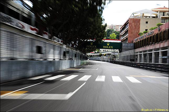 Стартовое поле Гран При Монако